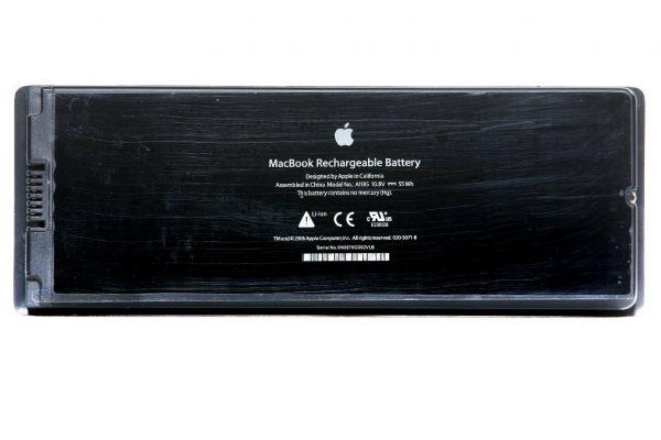 MacBook 13 Akku A1185 für A1181 2006 2009 MA566 108V 60Wh 5600mAh Neu Tinte MwSt 324653743466