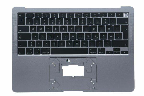 MacBook Air A2179 13 Topcase Tastatur Tastatur DE QWERTZ 2020 Space Grau Neu 324628909137