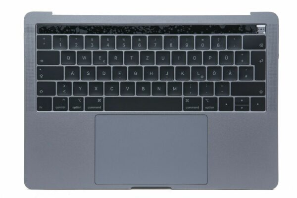 MacBook Pro 13 Topcase A1989 2018 2019 QWERTZ DE ink Tastatur Trackpad Akku 324619229187